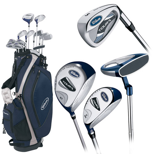 Wilson Tour RX Hybrid Golf Package 2007