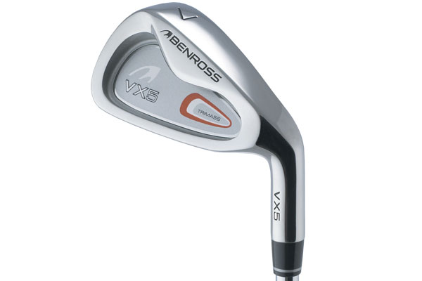 Benross Mens VX5 Irons (4-SW) (Steel)