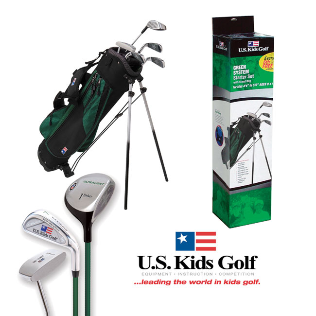 US Kids Golf Green Starter Set (9-11 years)